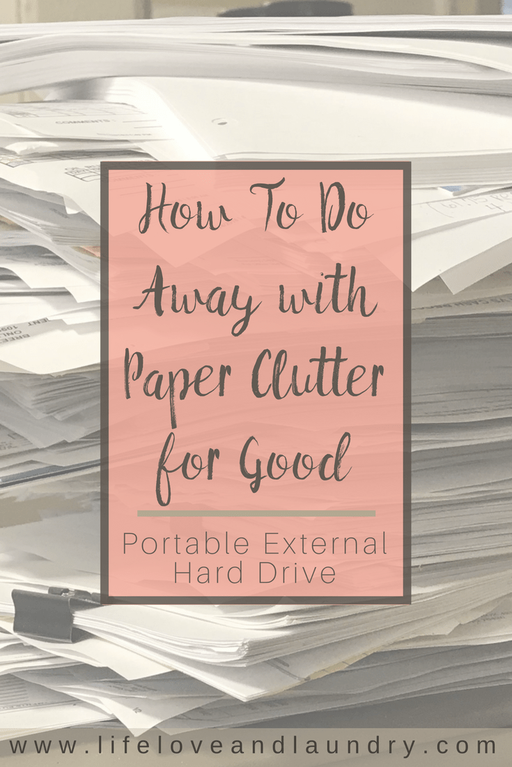 How To Do Away with Paper Clutter for Good