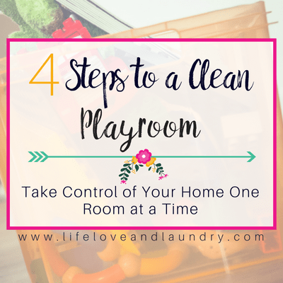 4 Steps to a Clean Playroom