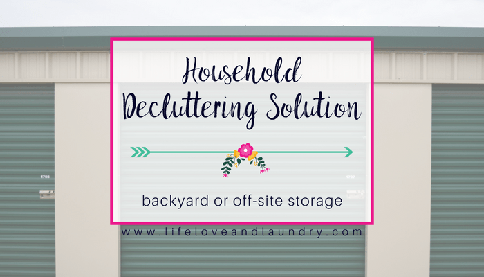 Household Storage Solution