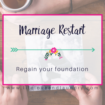 Marriage Restart