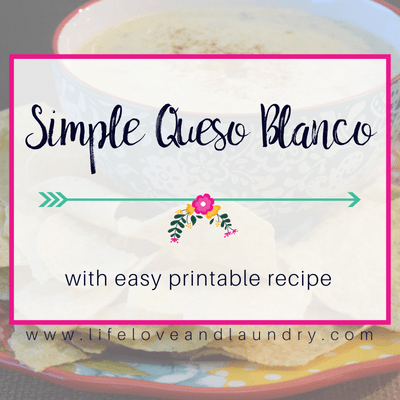 Simple Queso Blanco