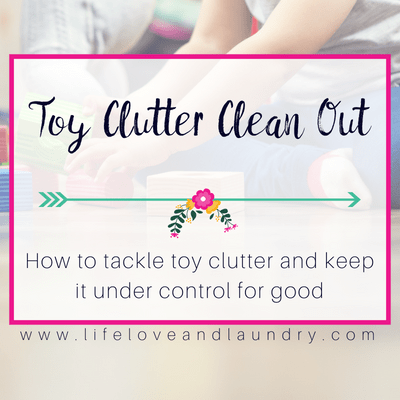 Clean Up Toys with Ease