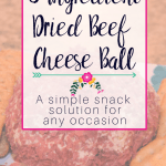Dried Beef Cheese Ball Recipe