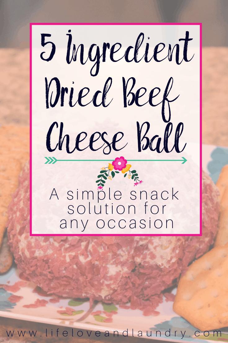 Dried Beef Cheese Ball Recipe