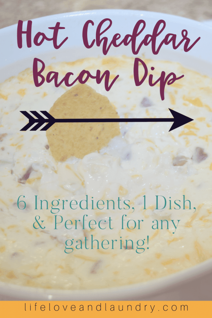 Hot Cheddar Bacon Dip